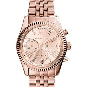 Michael Kore Women's Lexington Rose Gold Watch